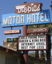 Indio Ca Tropics Motor Hotel Not Rated