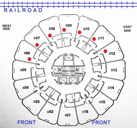 Photo Comments Above The Hotel Floor Plan Will Help You Choose Best Rooms For View Of Railroad During Your Stay Anything 5th