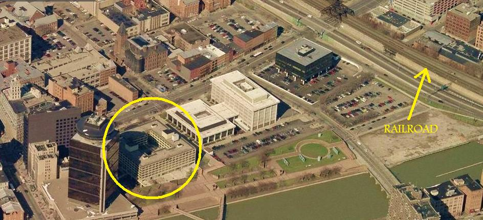Of The 3 Hotels In Rochester With Railroad View This Is Closest To Tracks Still Not Close Enough For An Excellent