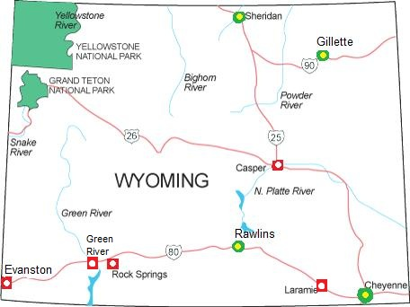 Railfan Motels - Wyoming